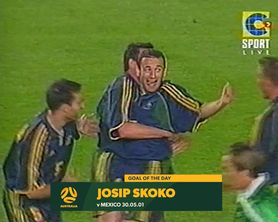 Josip Skoko seals win against Mexico at 2001 Confederations Cup