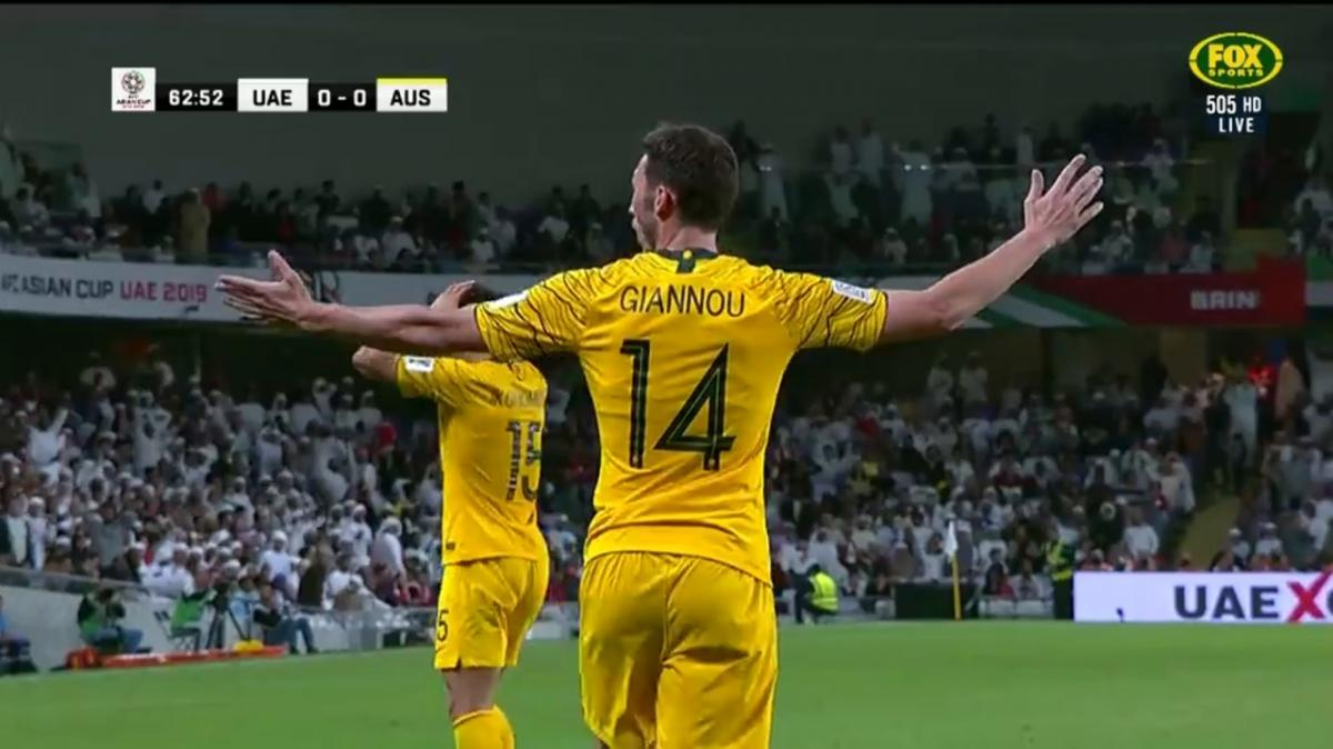 Full-time highlights: UAE v Australia