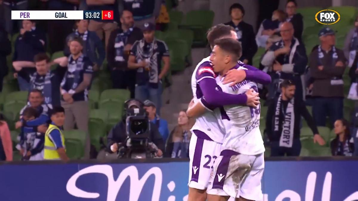Grant v Ikonomidis - Hyundai A-League 2018/19 Season Highlights