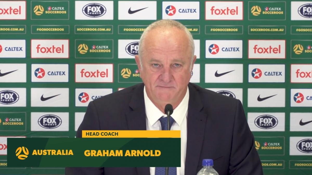 Socceroos squad announcement: Graham Arnold - Head Coach