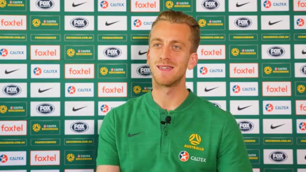 Lawrence Thomas excited to take his chance in first Caltex Socceroos camp