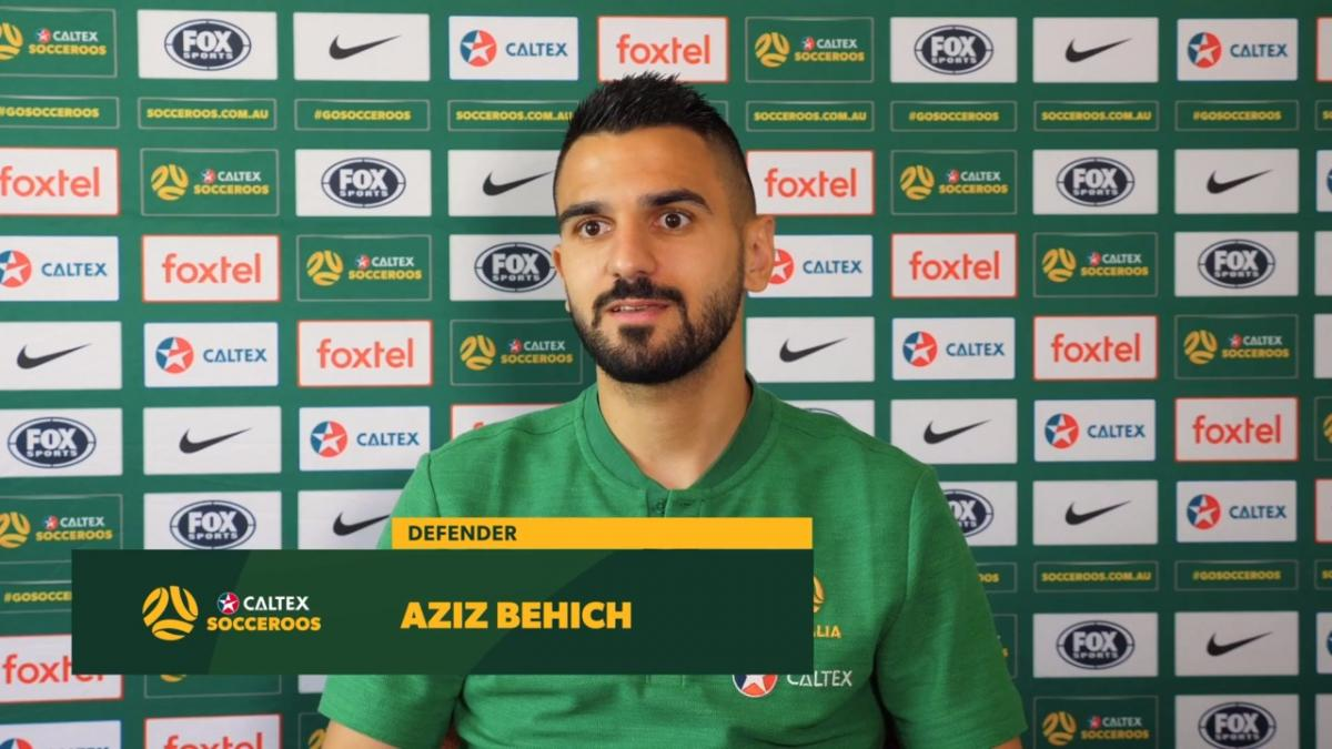 Aziz Behich kicking off perfect month with the Socceroos