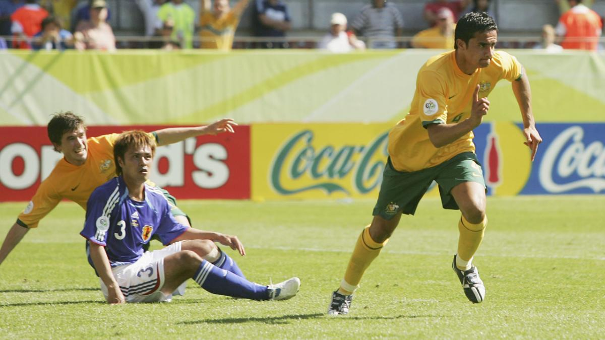 Harry Kewell compares mirror image Iran 1997 v Croatia 2006 goals