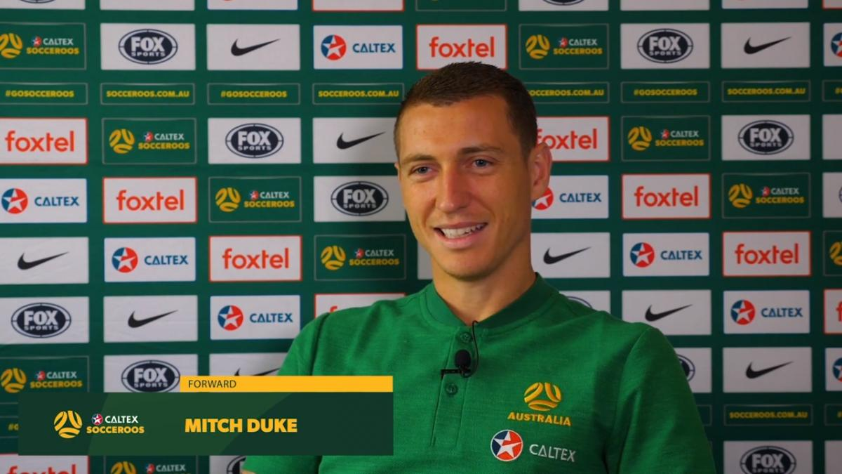 Mitch Duke bringing J-League experience