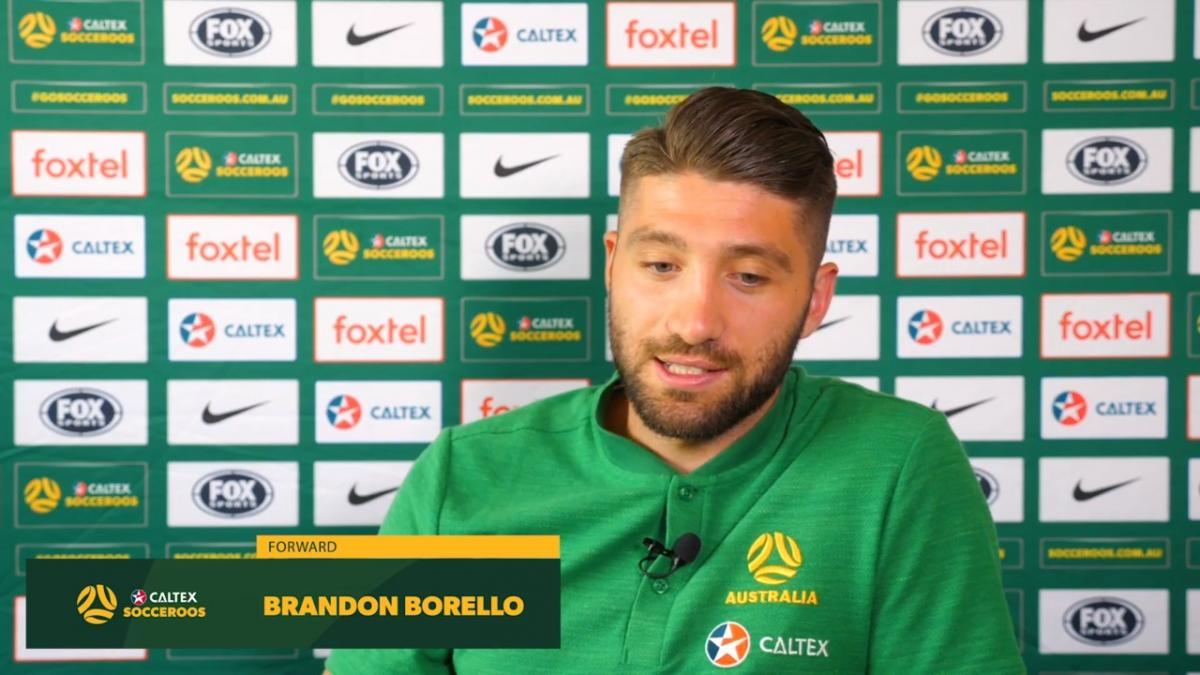 Brandon Borrello getting fit again in Germany