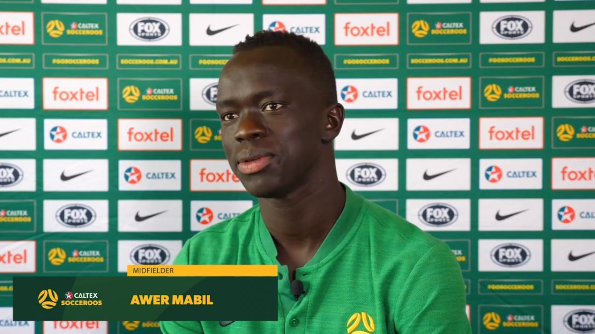 Awer Mabil at the start of his rise