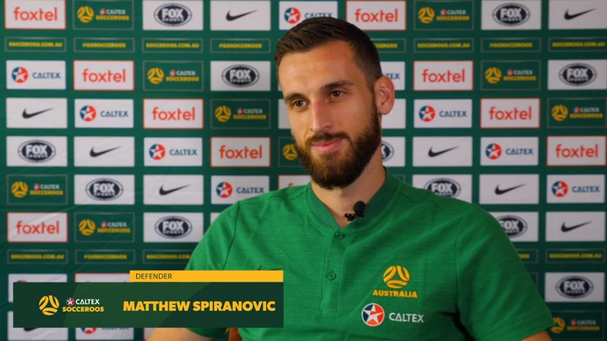 Matthew Spiranovic drawing from the Golden Generation