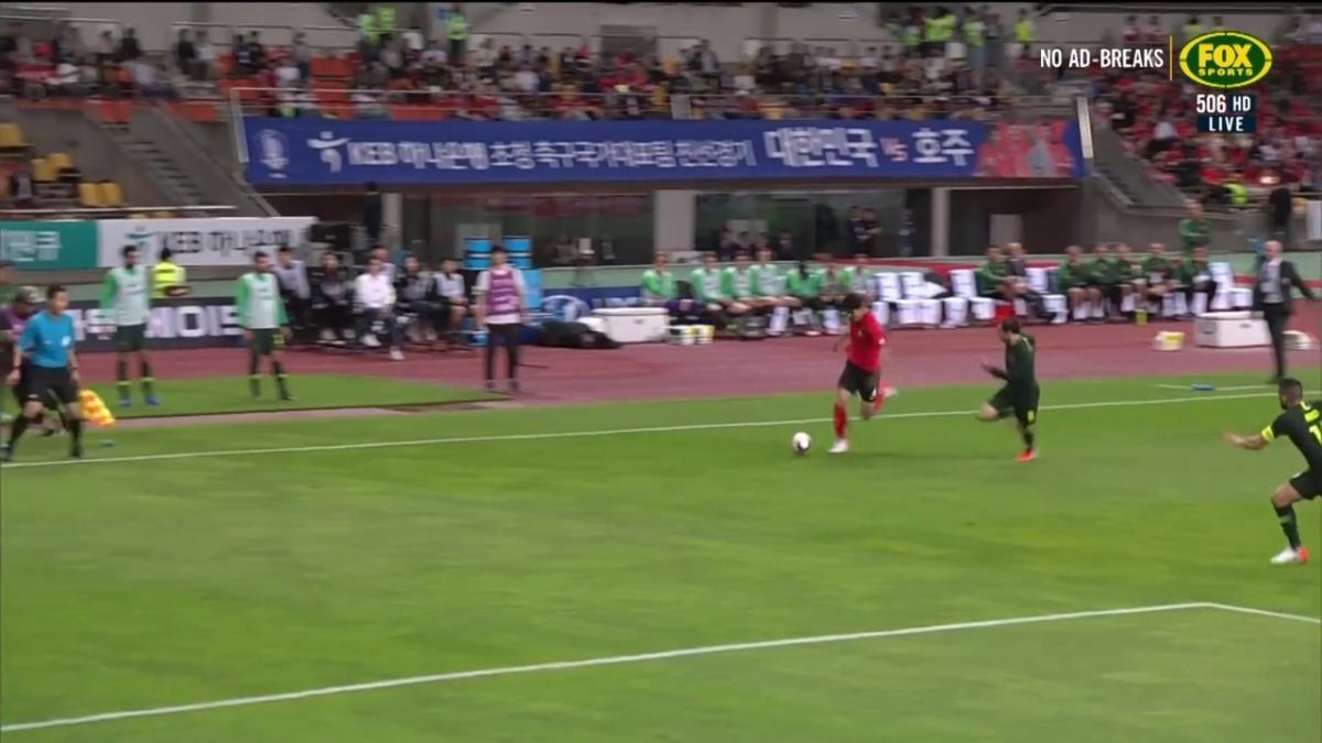 Korea Republic go close as the half dwindles