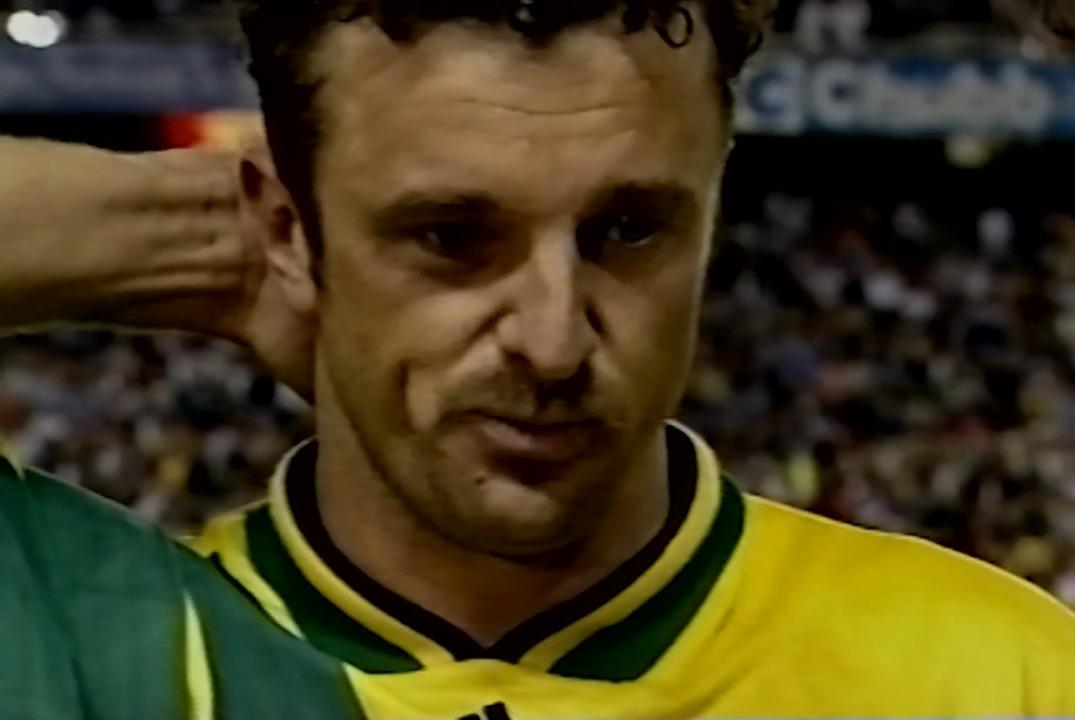 Graham Arnold's emotional post-match interview after Canada FIFA World Cup 1994 play-off