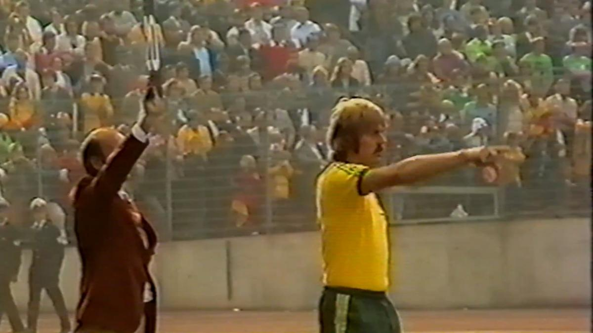Peter Ollerton features for Socceroos at FIFA World Cup 1974