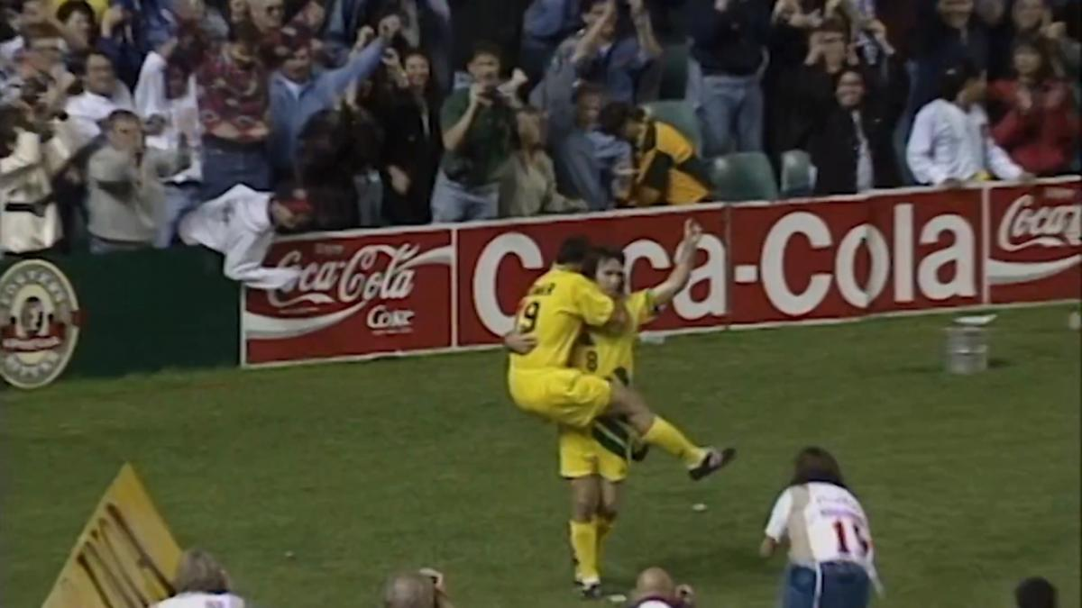 Vidmar brothers' highlights combining v Argentina in FIFA World Cup 1994 play-off