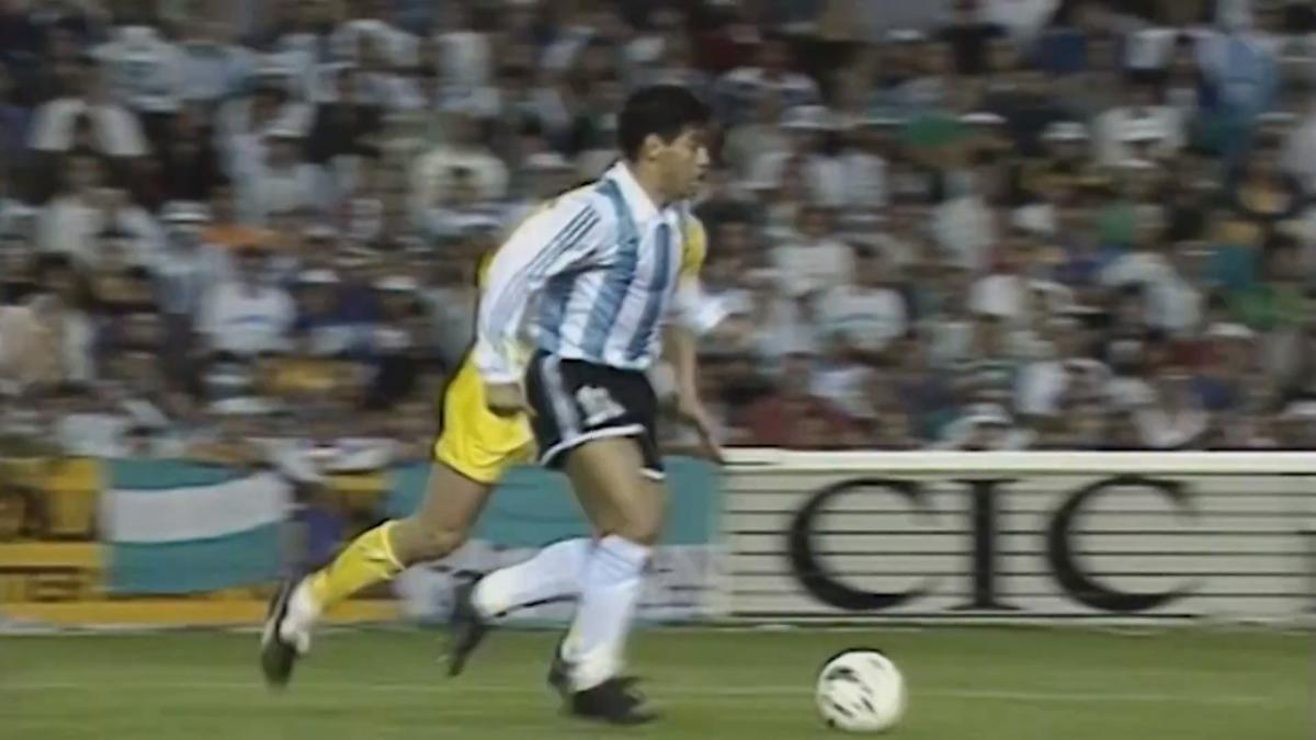 Diego Maradona's highlights v Socceroos in FIFA World Cup 1994 play-off