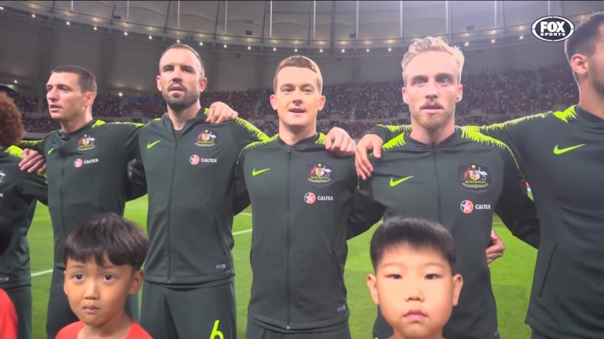 Brandon O'Neill reflects on 'unbelievable' Socceroos debut