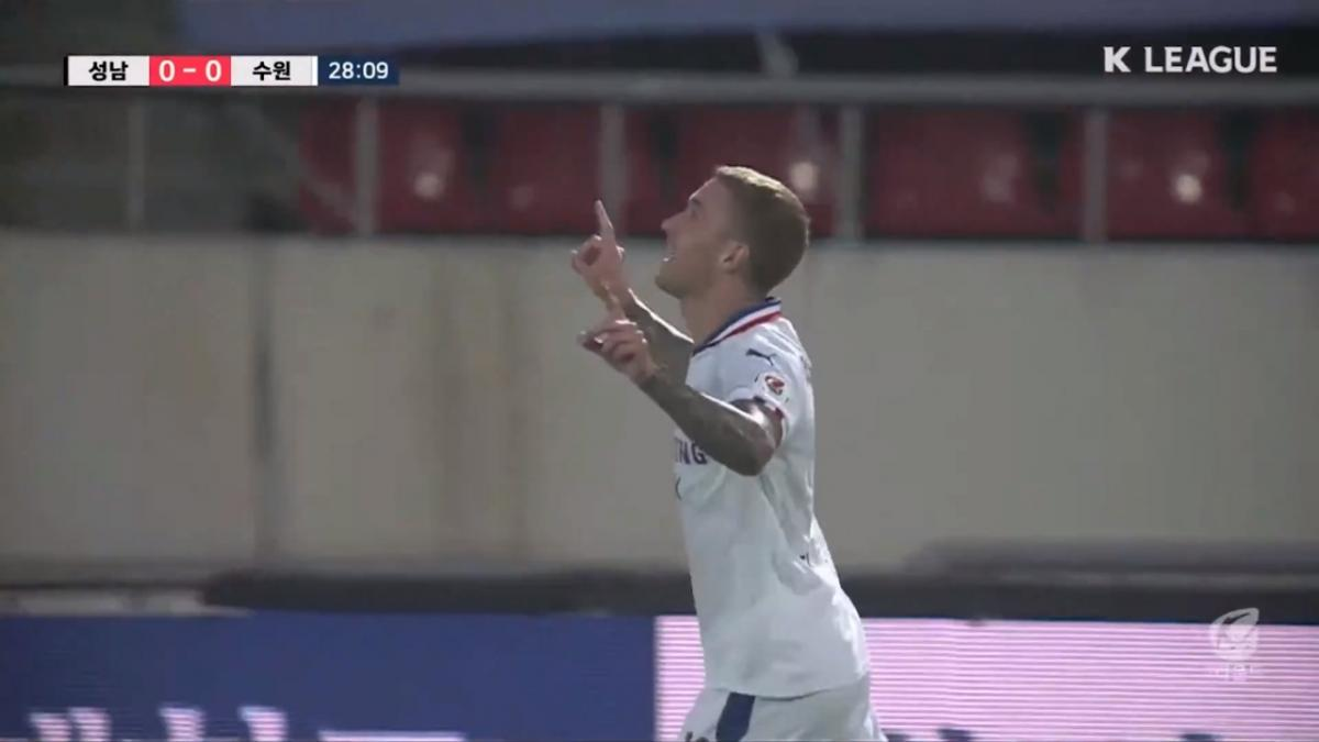 Adam Taggart scores first goal of K League season