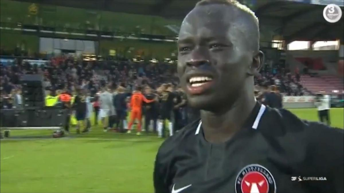 Awer Mabil's emotional tribute to late sister and club after winning Danish league title