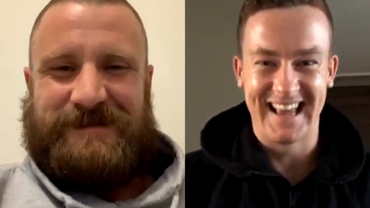 Andrew Redmayne & Brandon O'Neill's Instagram Live