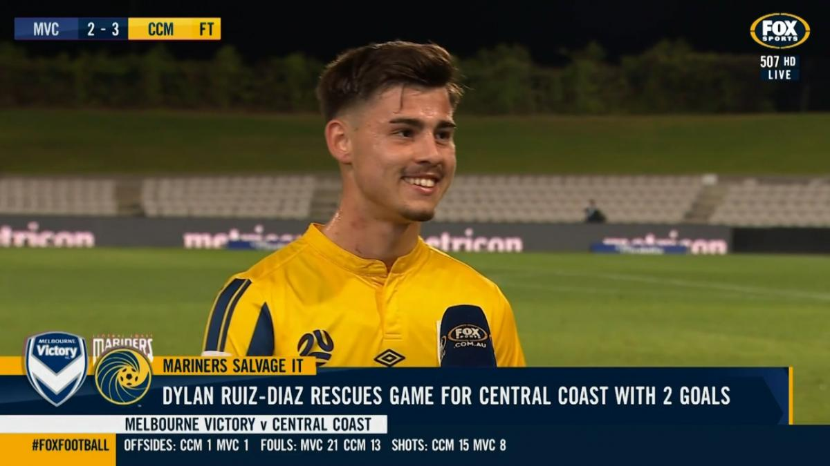 Dylan Ruiz-Diaz: I am working towards the top level | Interview after match-winning Mariners brace
