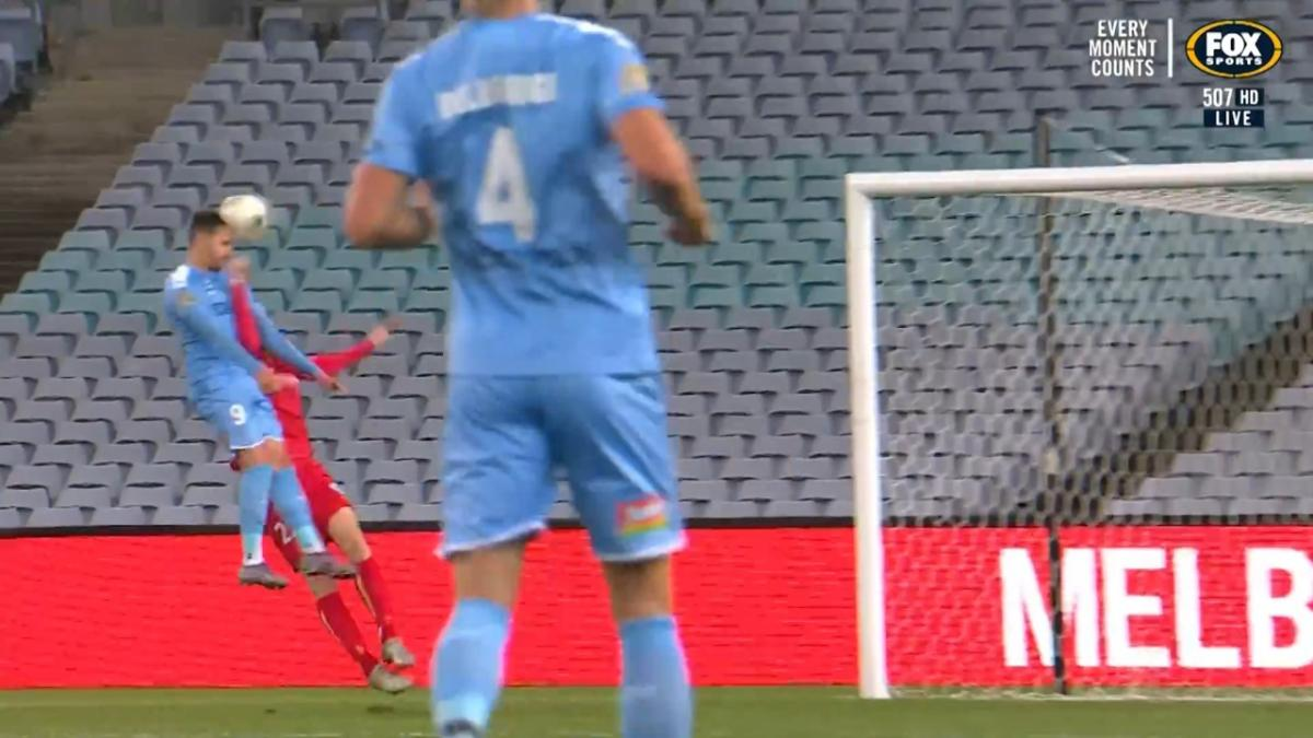 Jamie Maclaren scores 20th goal of Hyundai A-League 2019-20 Season