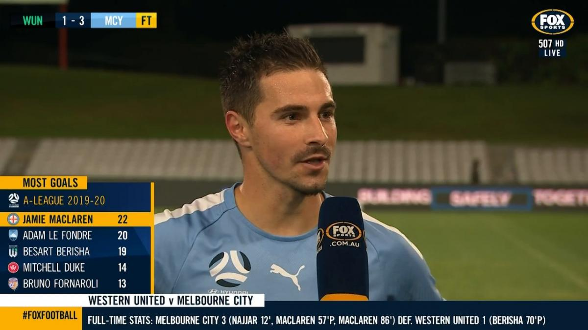Jamie Maclaren on winning Nike Golden Boot: The hard work and the quality around me has paid off