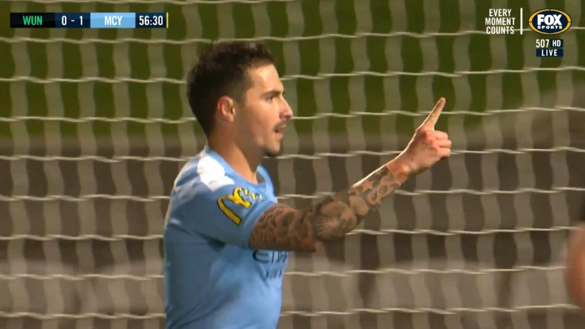 Jamie Maclaren gives Melbourne City FC lead over Western United FC