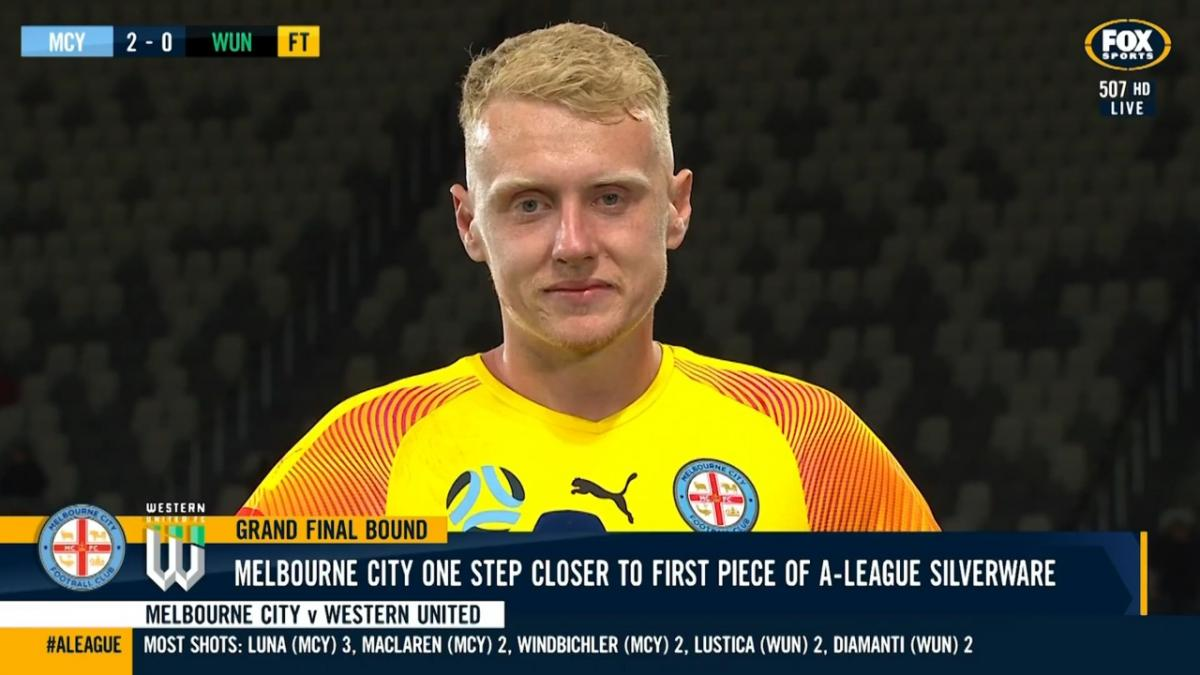 Australia U23's goalkeeper Tom Glover reflects on helping Melbourne City FC into first Hyundai A-League Grand Final
