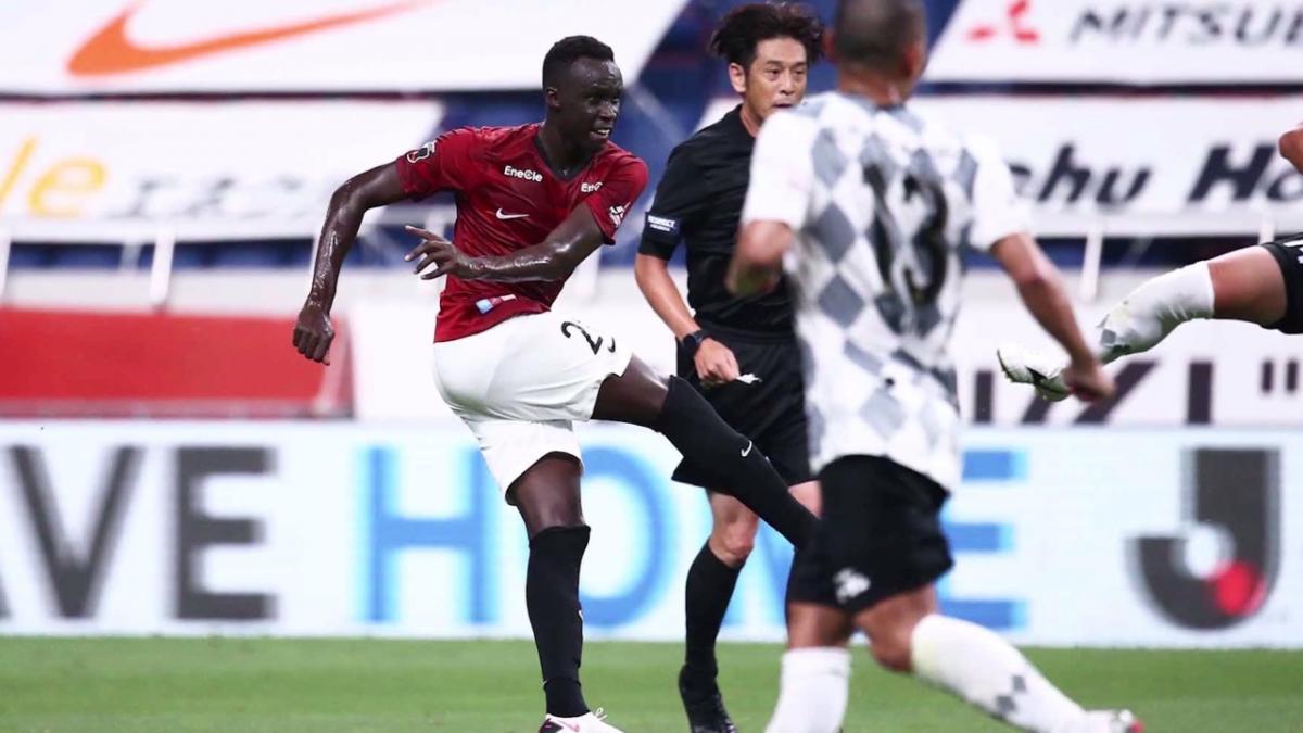 Thomas Deng talks through screamer first J League goal