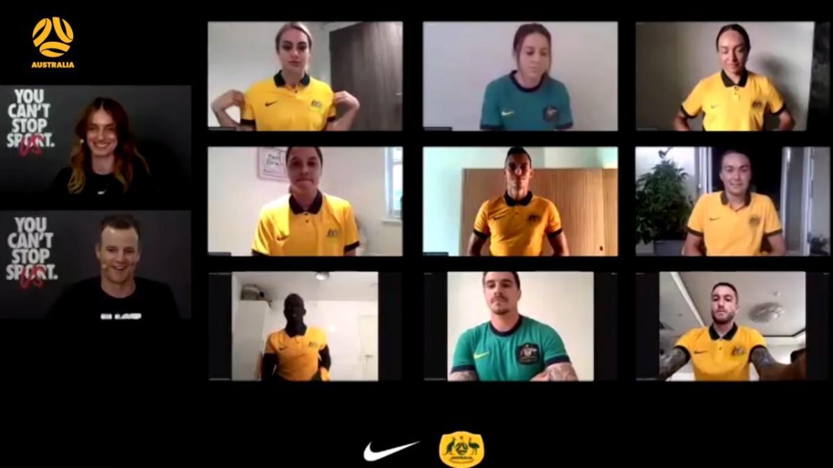 New Socceroos Nike kit reveal