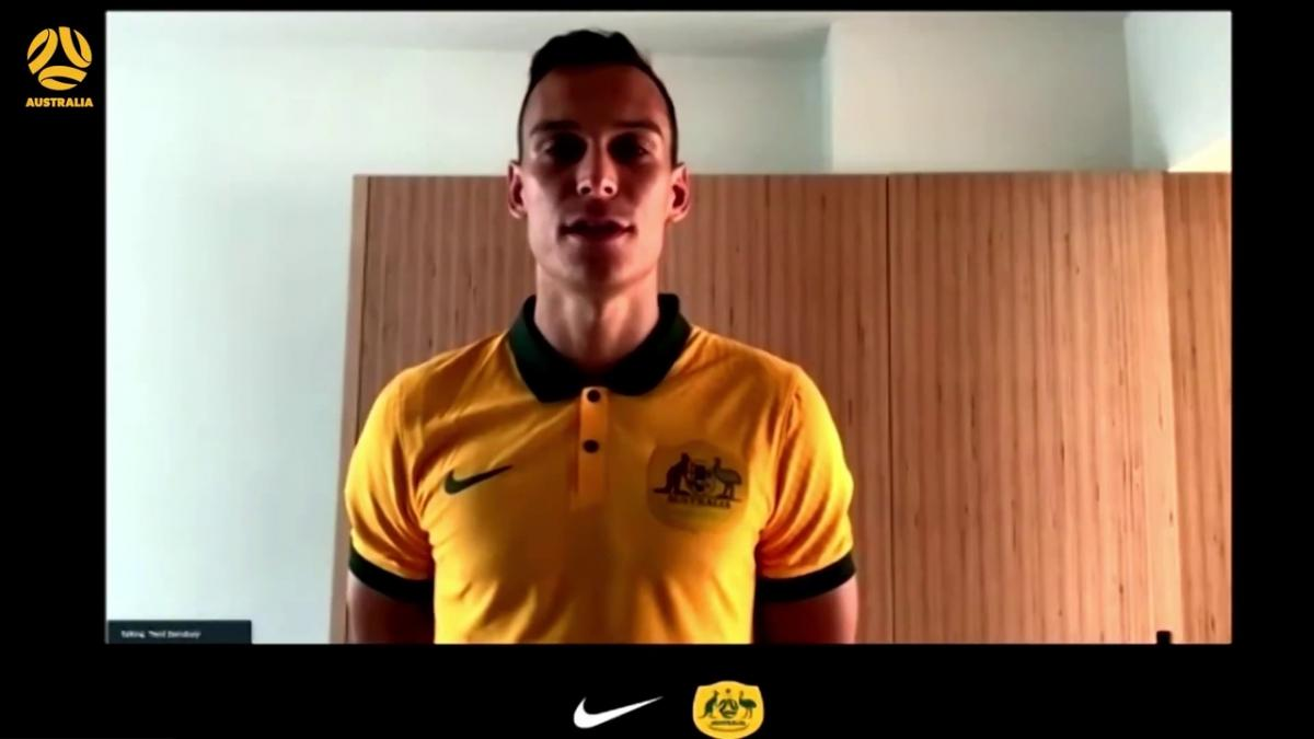 Trent Sainsbury talks through his best moment in a Socceroos Nike kit