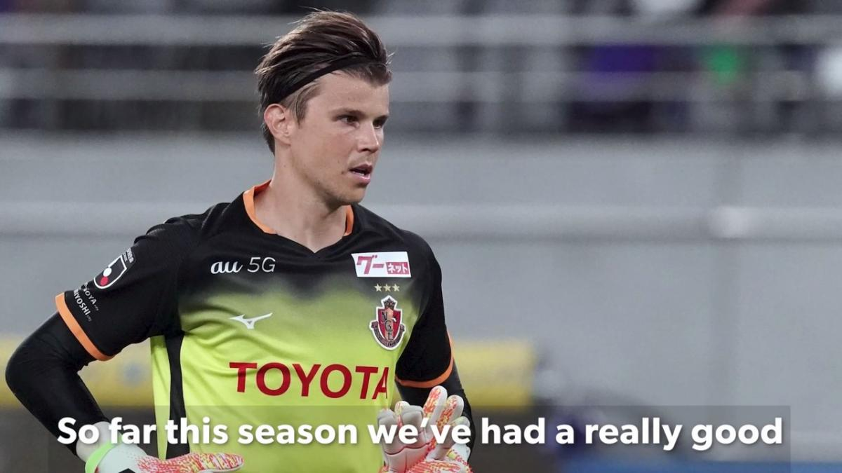 Mitch Langerak enjoying standout season with Nagoya Grampus in J League