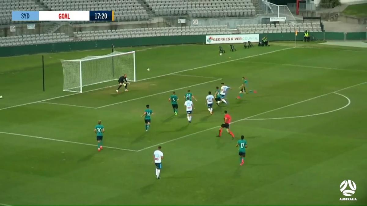 GOAL: Baumjohann - Olyroos in real trouble