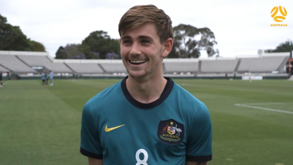 I unleashed my inner Stevie-G: Connor Metcalfe | Australia U-23