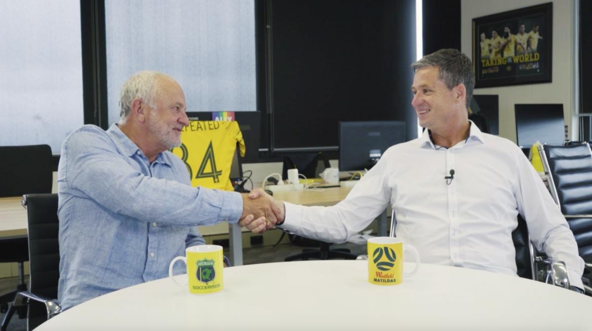Graham Arnold and Trevor Morgan review 2020 for the Australia Men's National Teams
