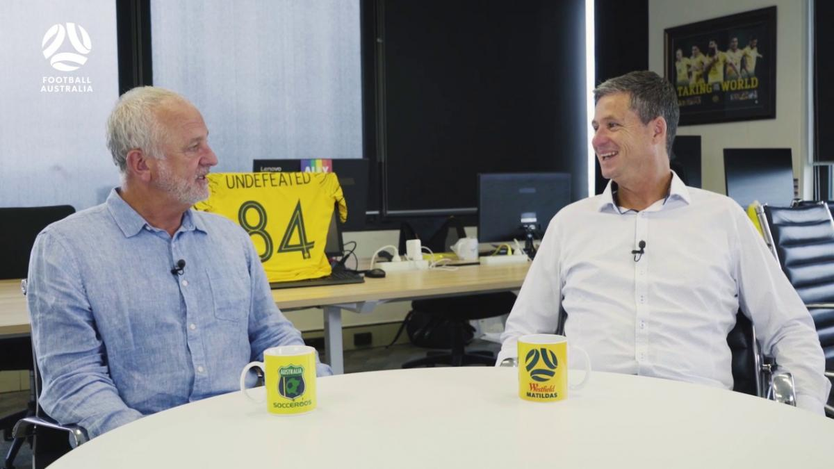 Graham Arnold and Joeys coach Trevor Morgan review 2020