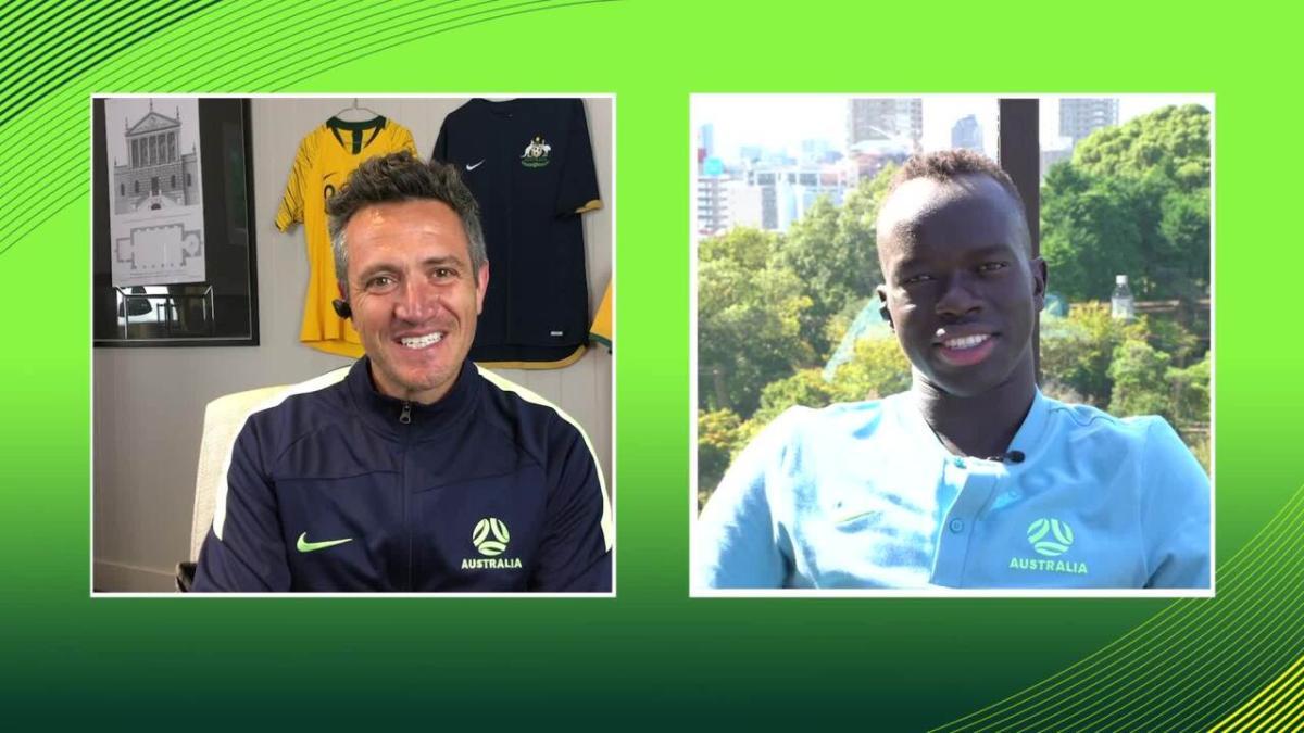 Irvine nets maiden Socceroos goal