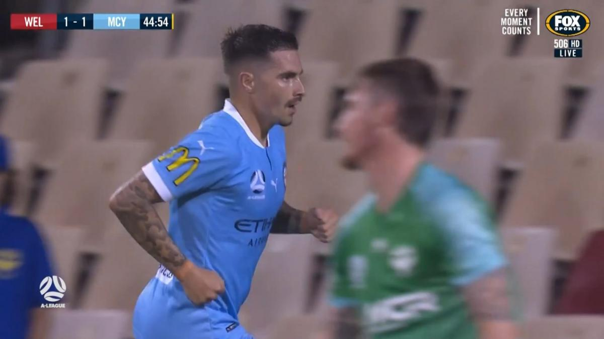 Another week, another A-League goal for Jamie Maclaren