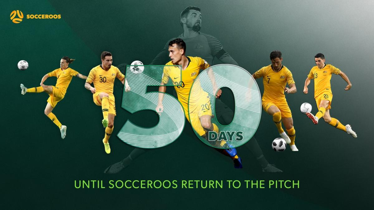 50 days until the return of the Socceroos