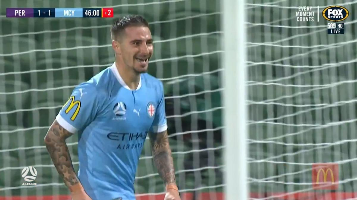 Jamie Maclaren brace brings up A-League century in style