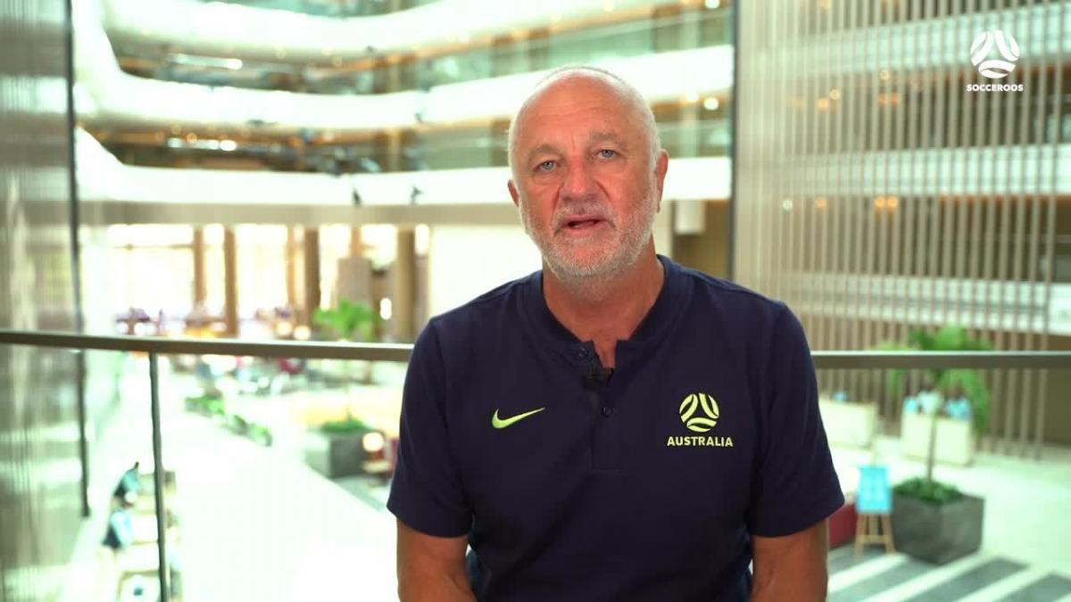 Graham Arnold explains Socceroos squad and arrivals in camp | Interview