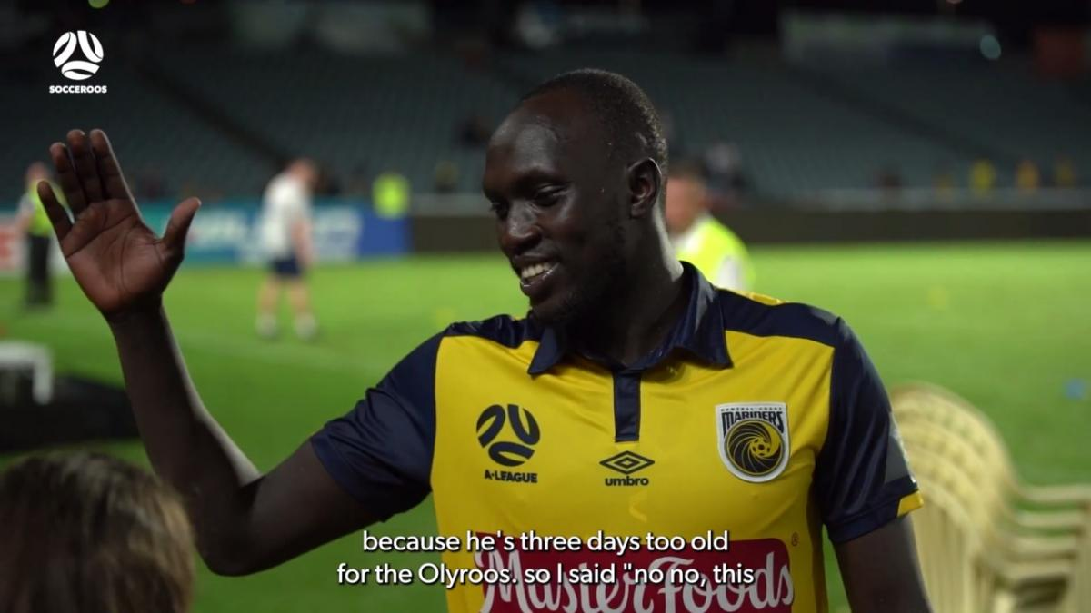 Ruon Tongyik's surprise, heartwarming reaction to Socceroos call-up