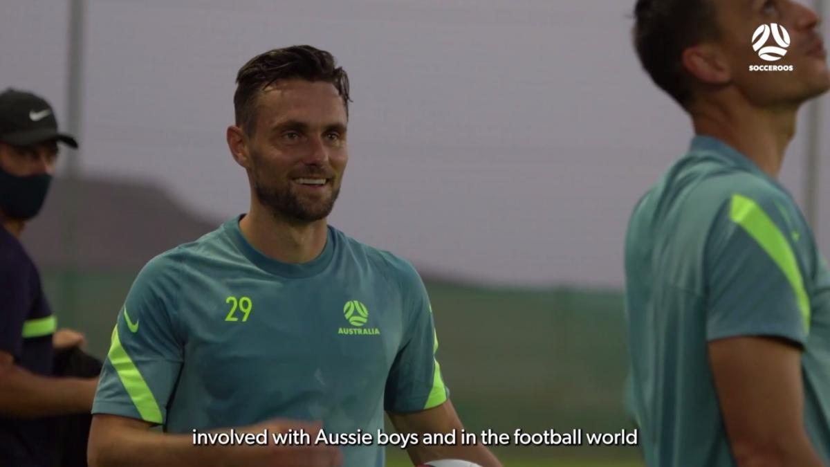 James Holland 'over the moon' to be back with the Socceroos   Interview