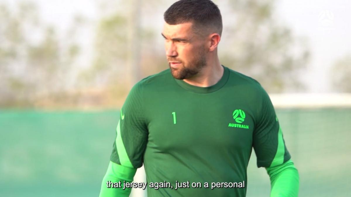 Maty Ryan ecstatic to be back in Socceroos camp   Interview
