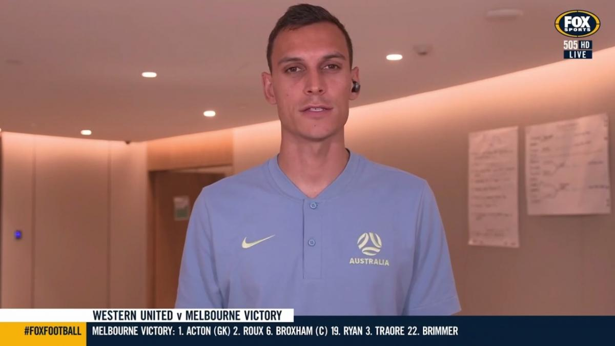 Trent Sainsbury's live cross with Fox Sports Football   Interview   Socceroos