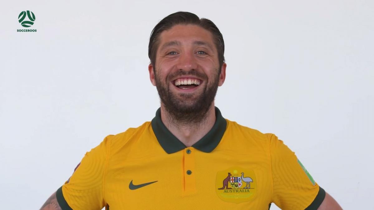 Socceroos react to putting on new kit for the first time
