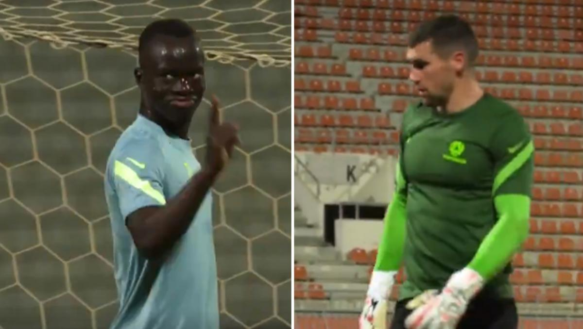 The Socceroos' banter-filled shooting competition