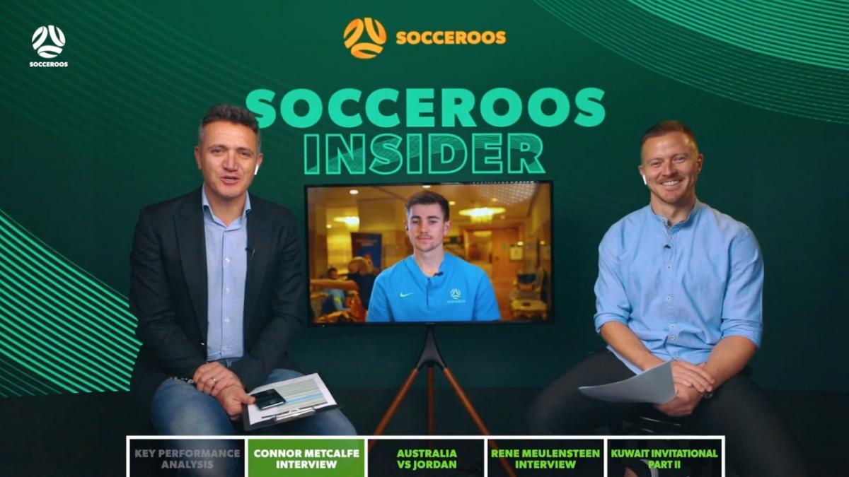 Socceroos Insider: Jordan Match Preview Show