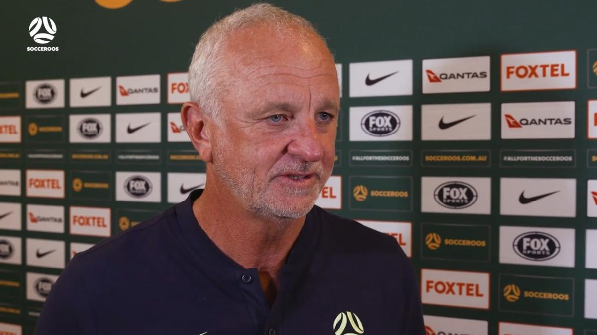Graham Arnold on how Socceroos' 'family culture' produced their fast start | Interview | Australia v Kuwait