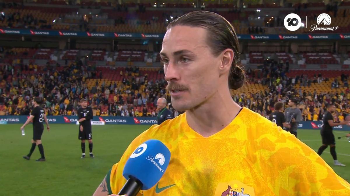 GOAL: Mathew Leckie opens Socceroos' scoring in first minute | Australia v Kuwait