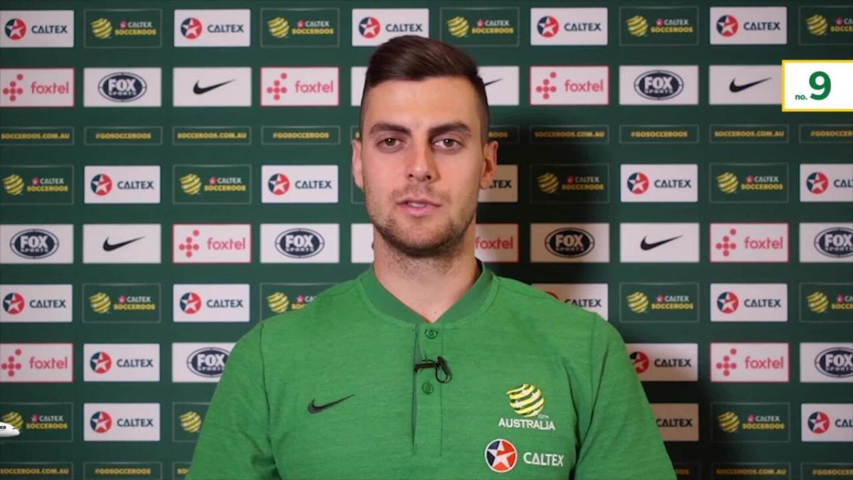 GOAL: Ajdin Hrustic scores stunning free kick for first Socceroos goal | Australia v Kuwait