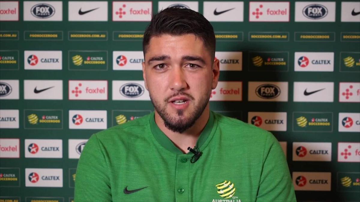 SAVE: Mat Ryan halts Kuwait attack with superb Socceroos save | Australia v Kuwait