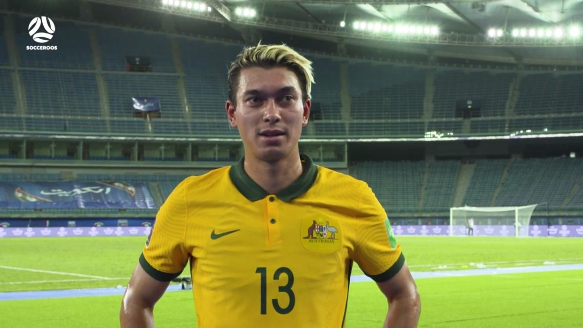 Kenny Dougall reflects on 'special' Socceroos debut | Interview | Australia v Kuwait